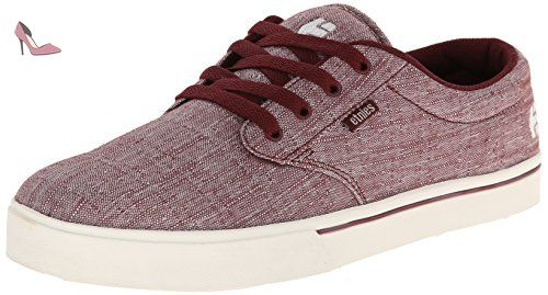 Hitch, Chaussures de Skateboard Homme, Rouge (Burgundy 602), 39 EU (6 UK)Etnies