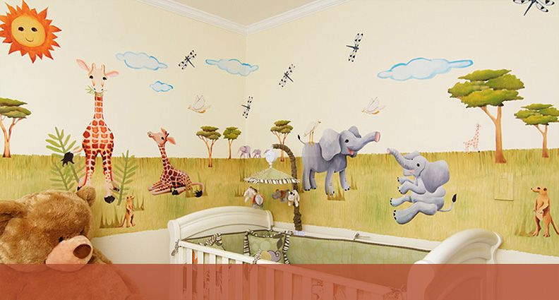Fine Art Hand-Painted Wall Decals, stick them up and transform a ...