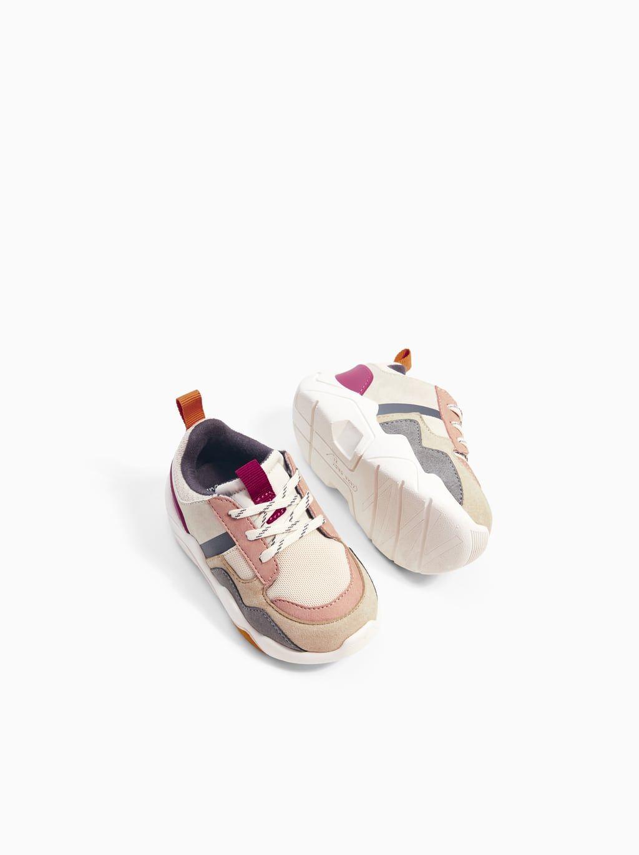 Kontrast spor ayakkabi | Model | Zara