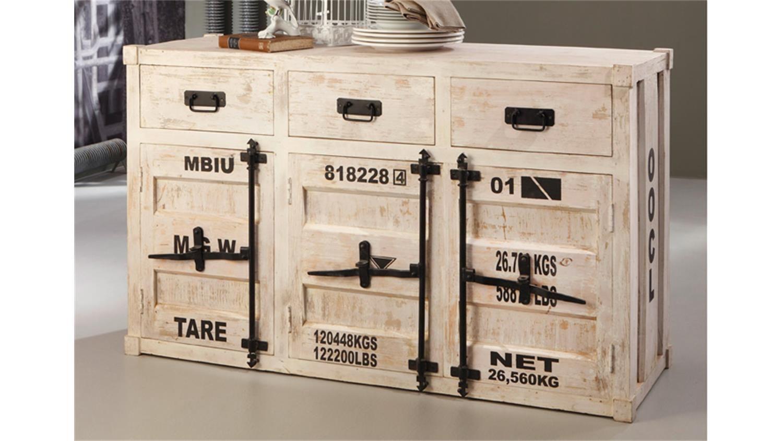 Kommode 6902 Container Von Wolf Mobel In Antik Weiss Mobel Mobel