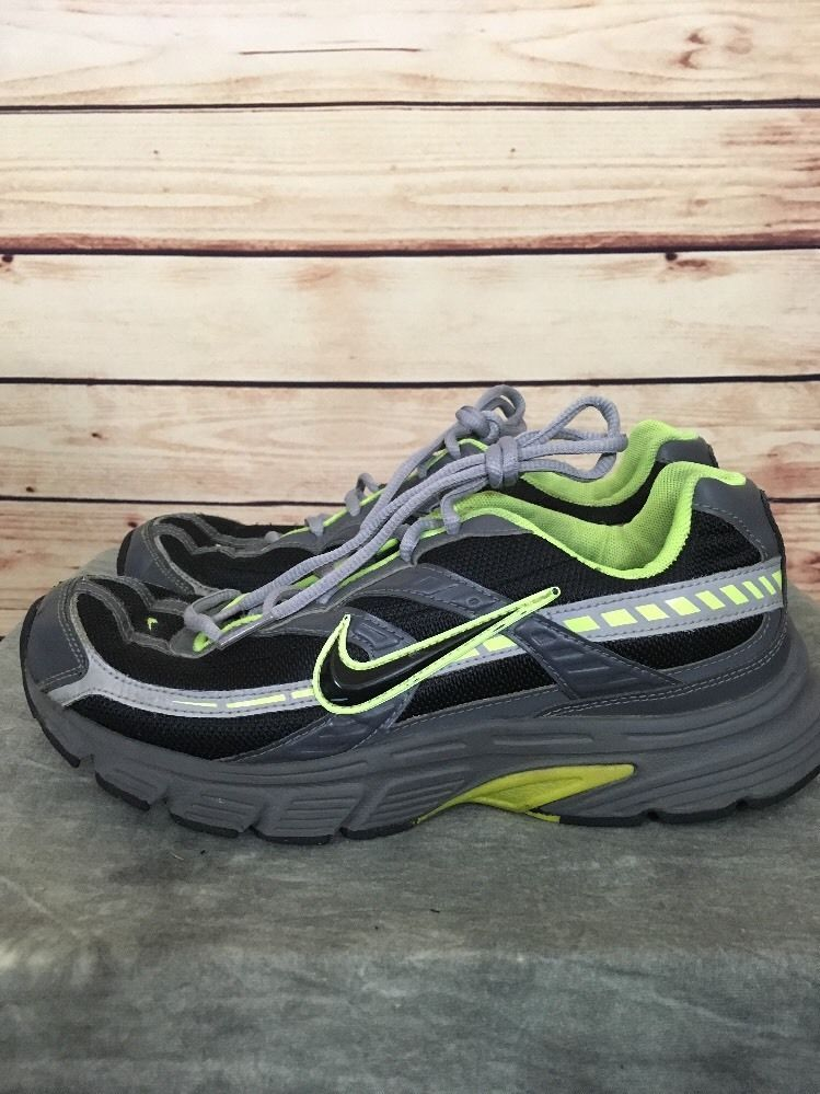 8ad72b1dbcb14 Details about Nike Mens Trainer Walking Shoes Gray Black Green Size ...