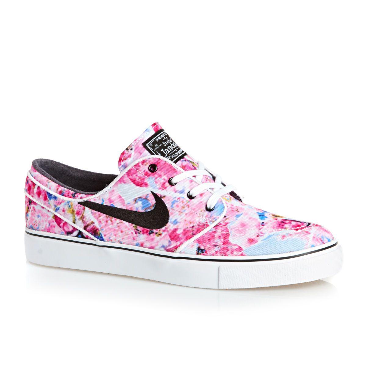 Nike Skateboarding Zoom Stefan Janoski Shoes - Dynamic Pink/black