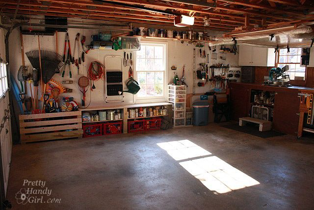 Photo of Garage/Workshop Makeover Final Reveal – Thanks to the Bagster Bag