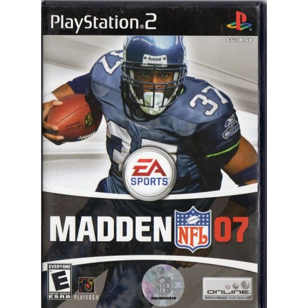 Ps Electronic Art Ea Sports Nintendo Wii Madden Nfl