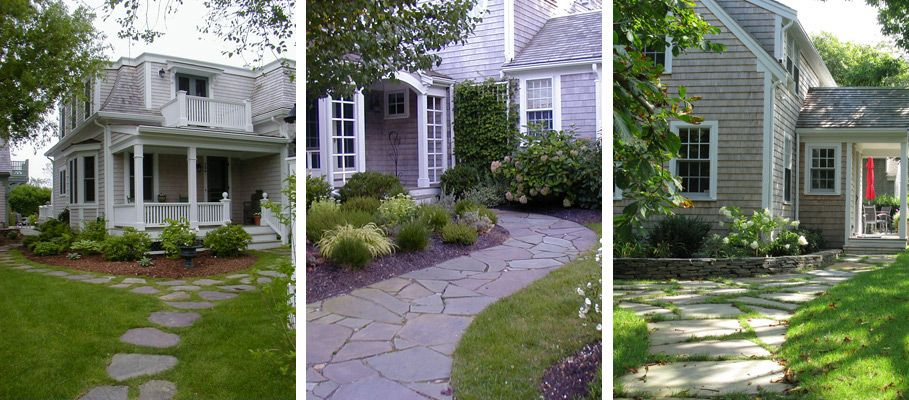 landscaping for cape cod style houses cape cod garden On cape garden designs