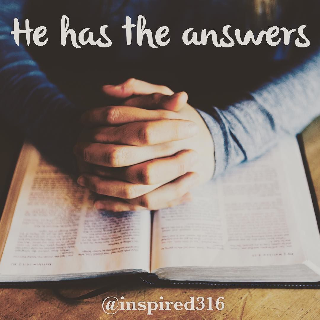 Seek and you will find ...  If you have a friend struggling with a problem tag them with this message as a reminder to look for peace AND answers in the Word of God!!! He really does want to direct our paths we just need to seek him... by inspired316 http://ift.tt/1KAavV3