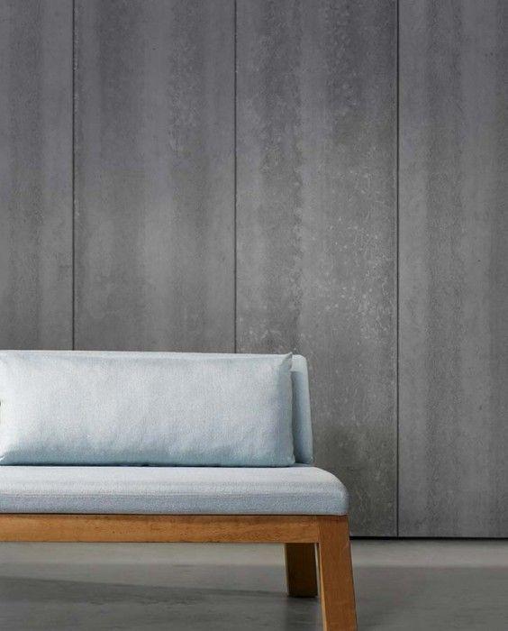 Papel de parede concrete 04 designer wallpaper for Mobilia anos 70