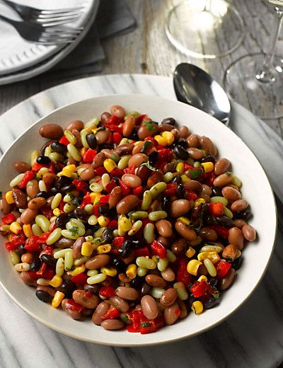 Three Bean Salad M S Mixed Bean Salad Recipes Three Bean Salad Bean Salad Recipes