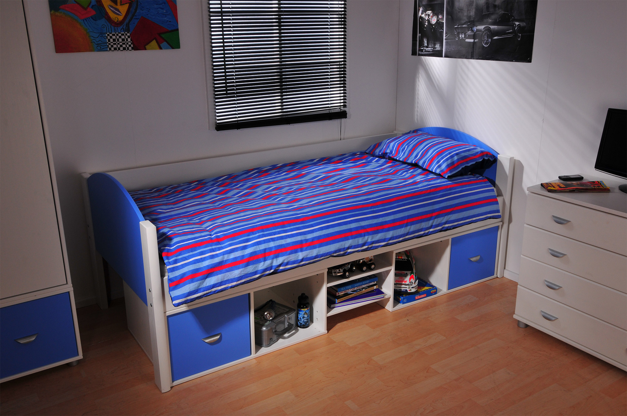 Stompa Compact Bed (boy)