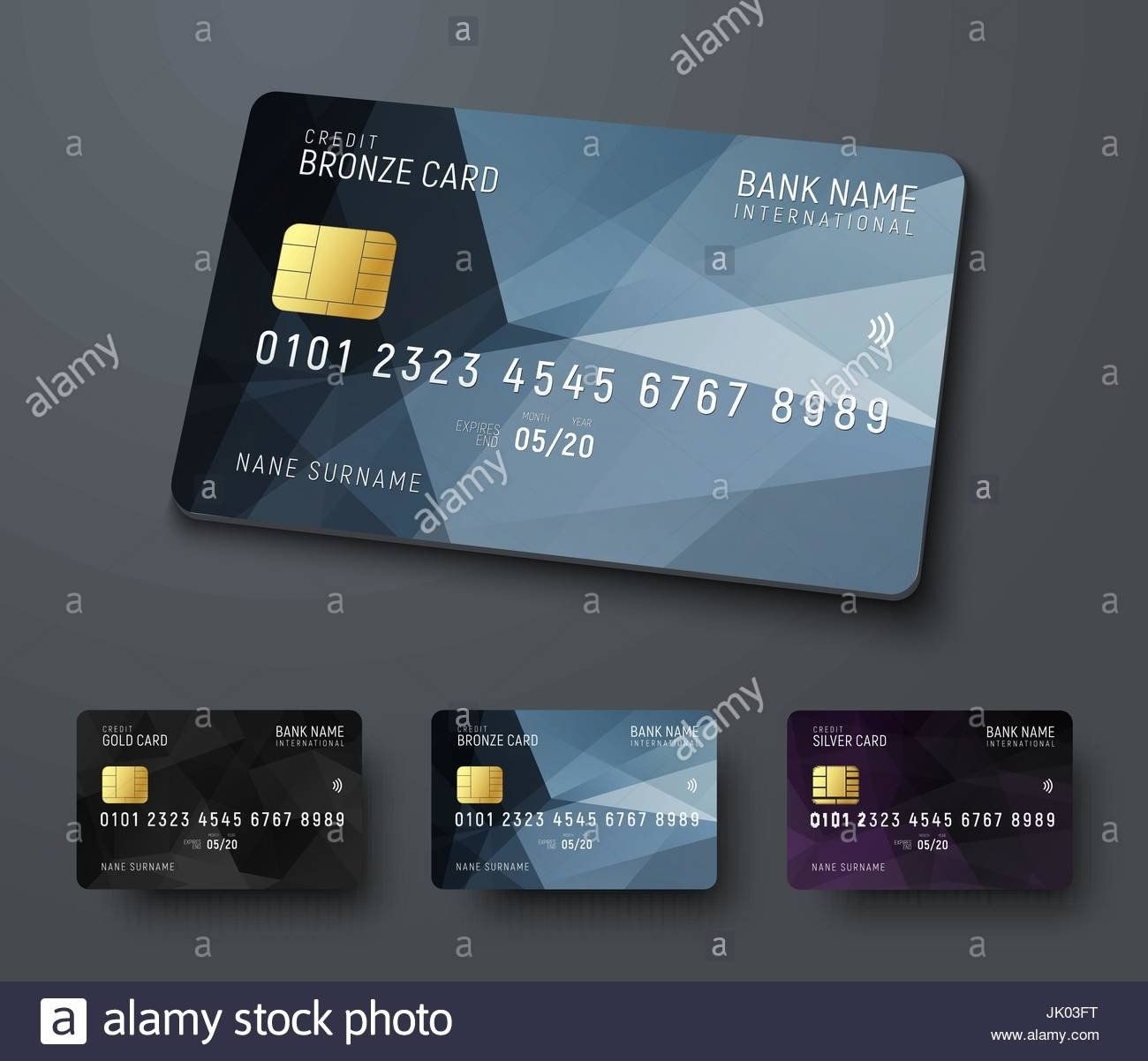 Cool debit card designs awesome templates of credit debit