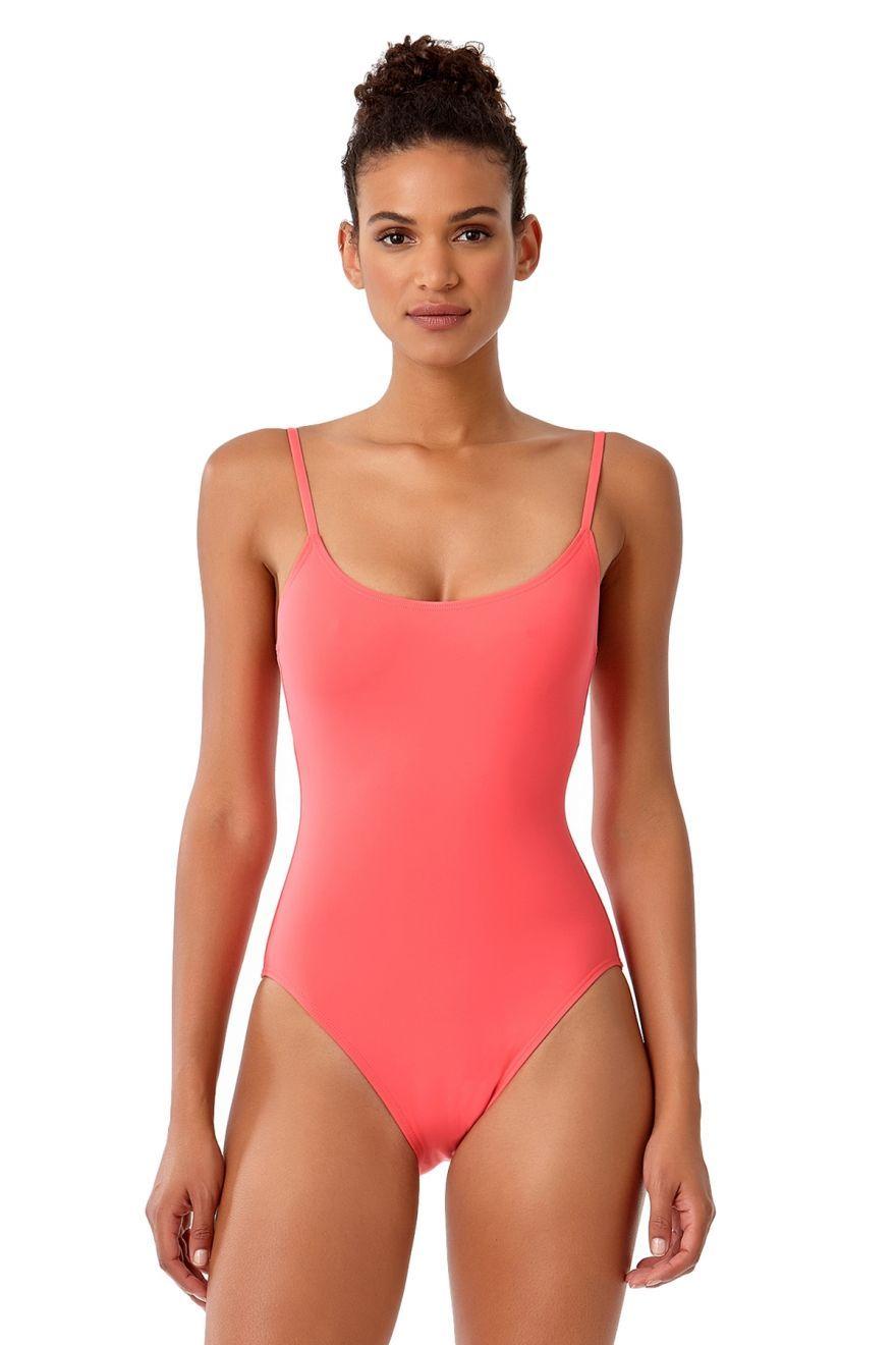 950c50cf8d3201 Studio Anne Cole Women's Vintage Lingerie Maillot One Piece Swimsuit | New  Arrivals