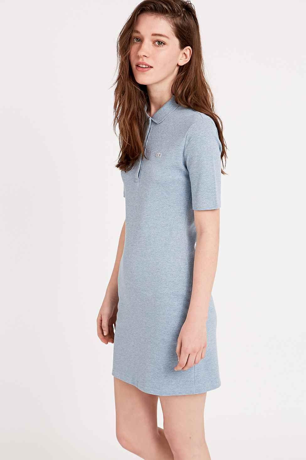 Sky Live Lacoste Polo Shirt In Dress BlueDresses Robe FKlTucJ135