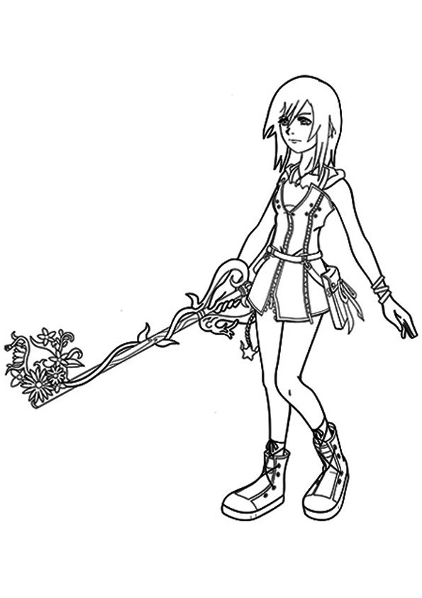 25 Interesting Kingdom Hearts Coloring Pages For Your ...