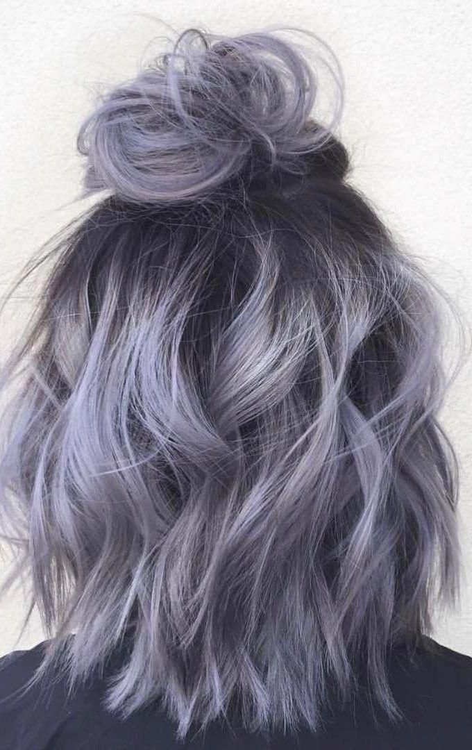 Photo of 36 Ideas de color de cabello gris plateado Ombre para chicas atentas #curlyhair