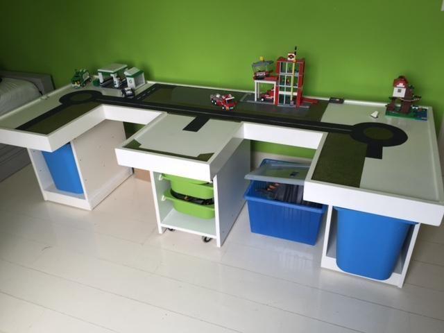 Lego play table | Kinderzimmer | Pinterest | Lego play table, Play ...