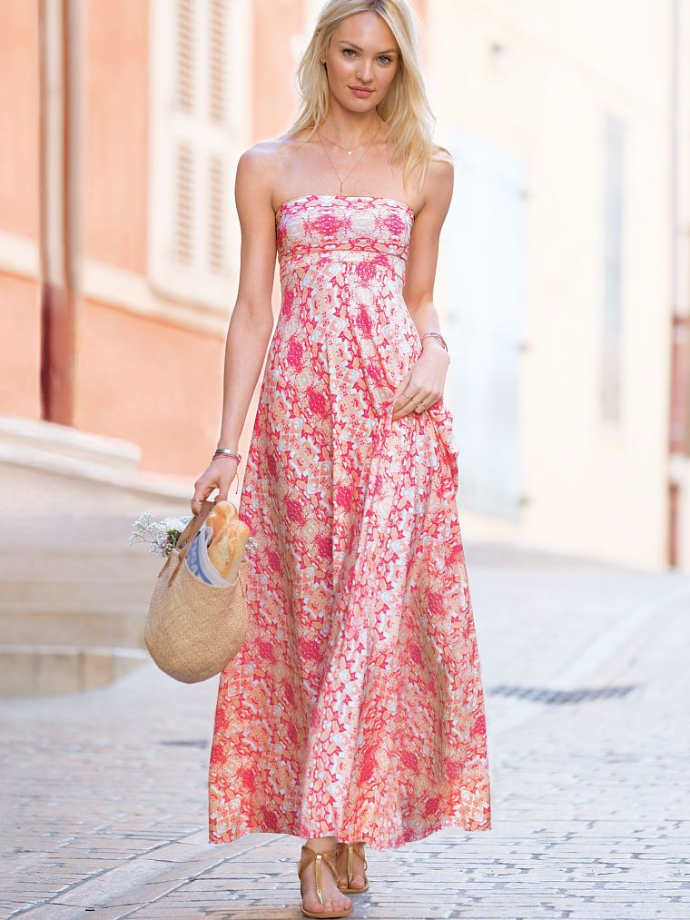 Foldover Multi-way Maxi Dress - Victoria\'s Secret | moda | Pinterest ...