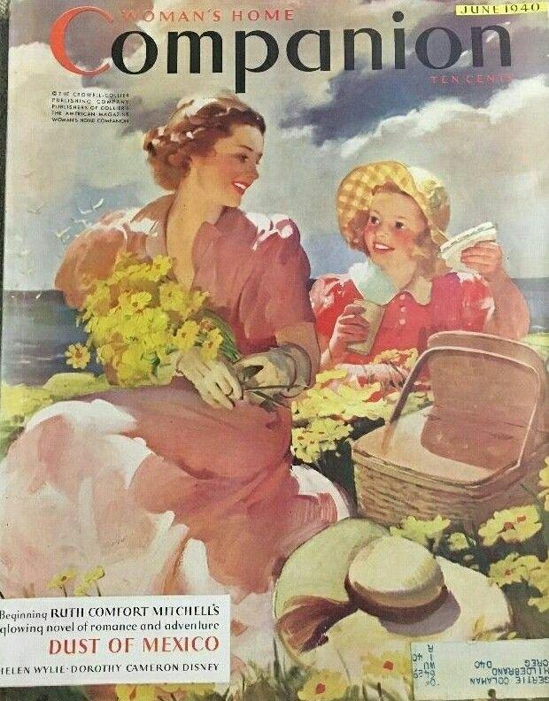 VINTAGE BLOG: Modern Priscilla : M. E. Musselman 1926