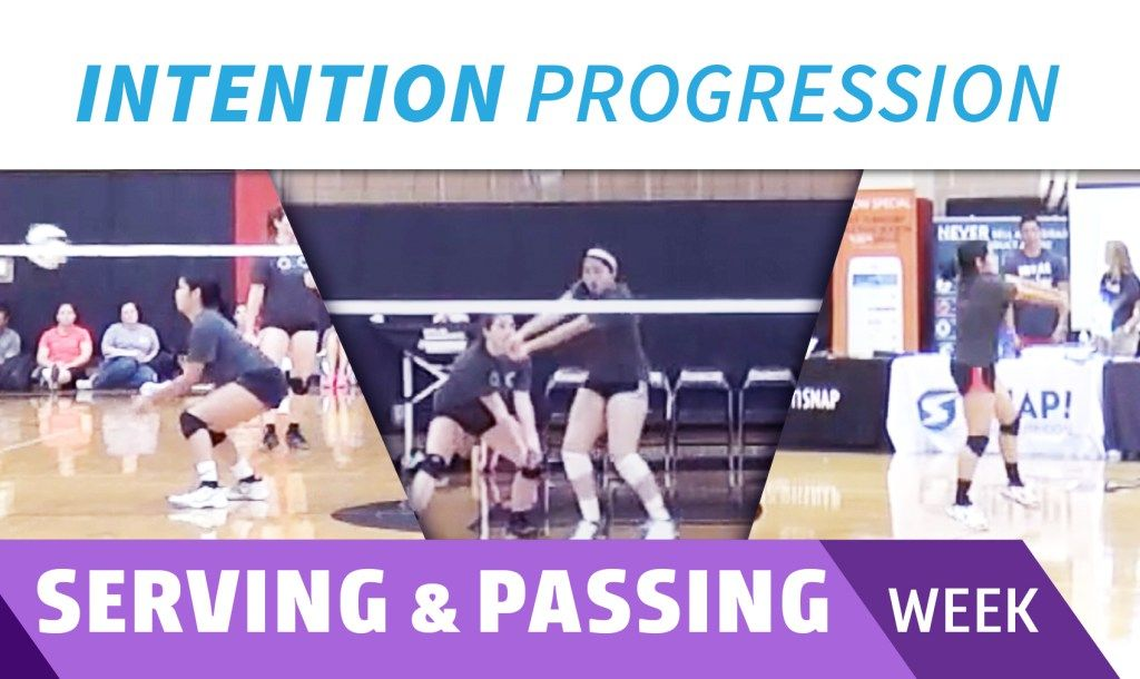 Serve And Pass With Intention Progression The Art Of Coaching Volleyball Coaching Volleyball Volleyball Coaching