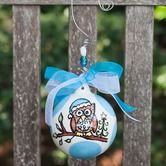 Found it at Wayfair - Owl Baby's First Ball Ornament