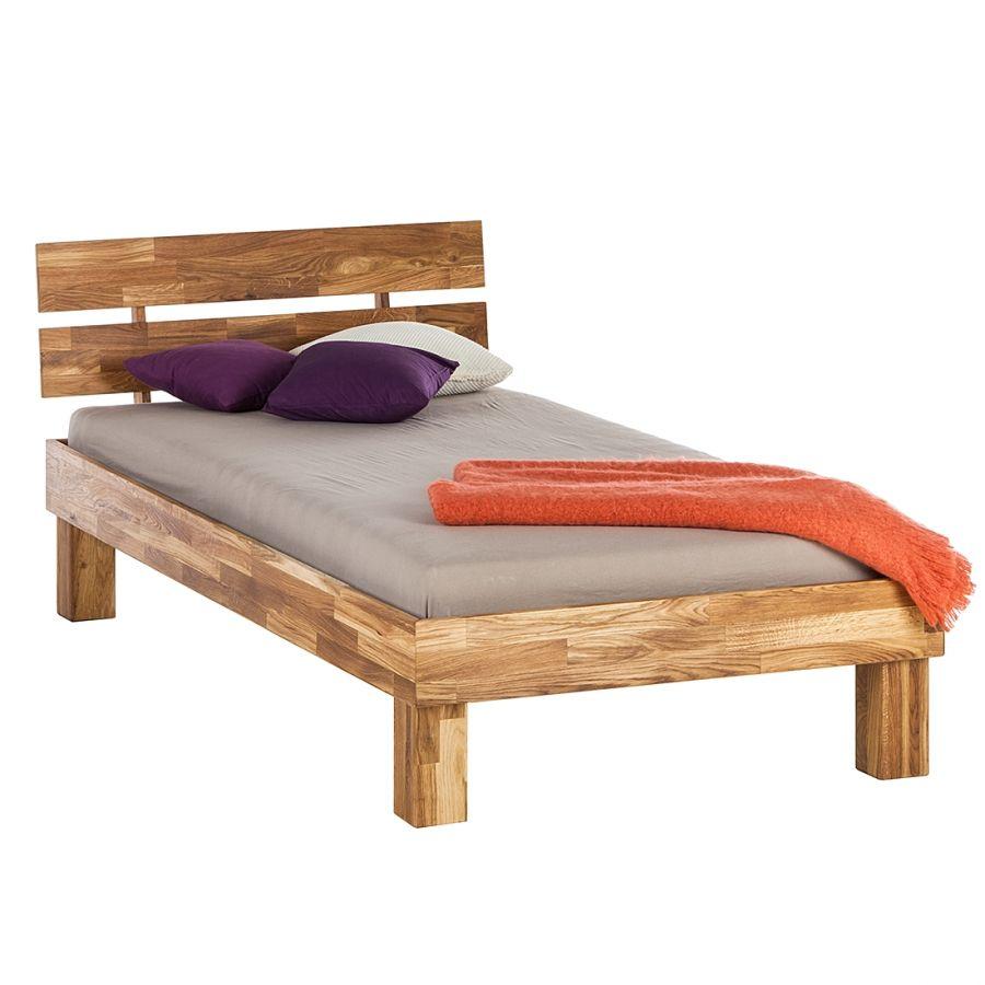 Massivholzbett Areswood 100 X 200cm Mit Kopfteil Eiche Wood Furniture Diy Furniture Furniture Diy