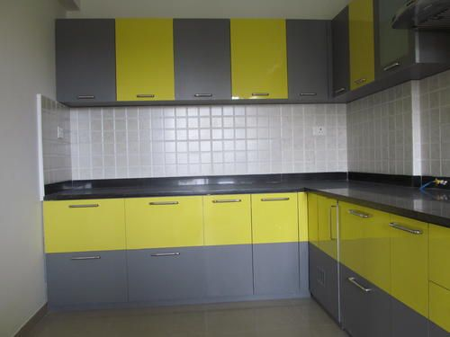 L Shaped Modular Kitchen Designer In Chandigarh  Call Chandigarh Classy Modular Kitchen L Shape Design Design Decoration