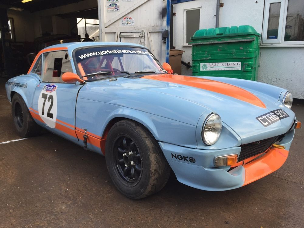 Triumph Spitfire Race Or Track Day Car Triumph Spitfire Triumph Racing