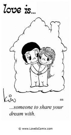 Love is... Comic Strip, Love Comic, Love Quotes, Love