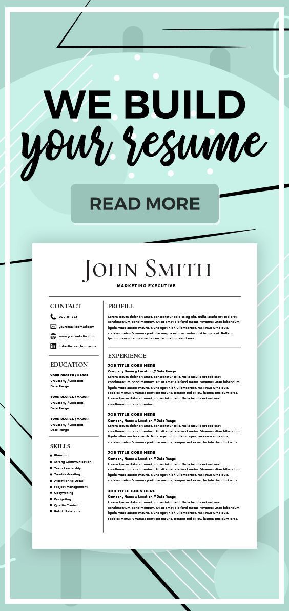 Resume Builder - Create a Resume - Resume Services - Make a Resume