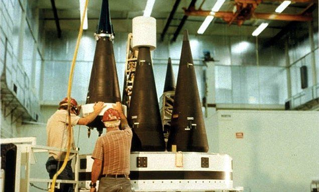 Russia has DOUBLED their store of nuclear warheads   Warheads, Vehicles,  Nuclear