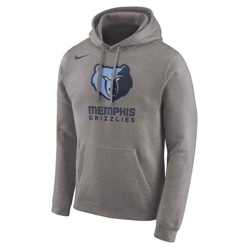 Memphis Grizzlies Nike Men's Logo NBA Hoodie Grey   Nike
