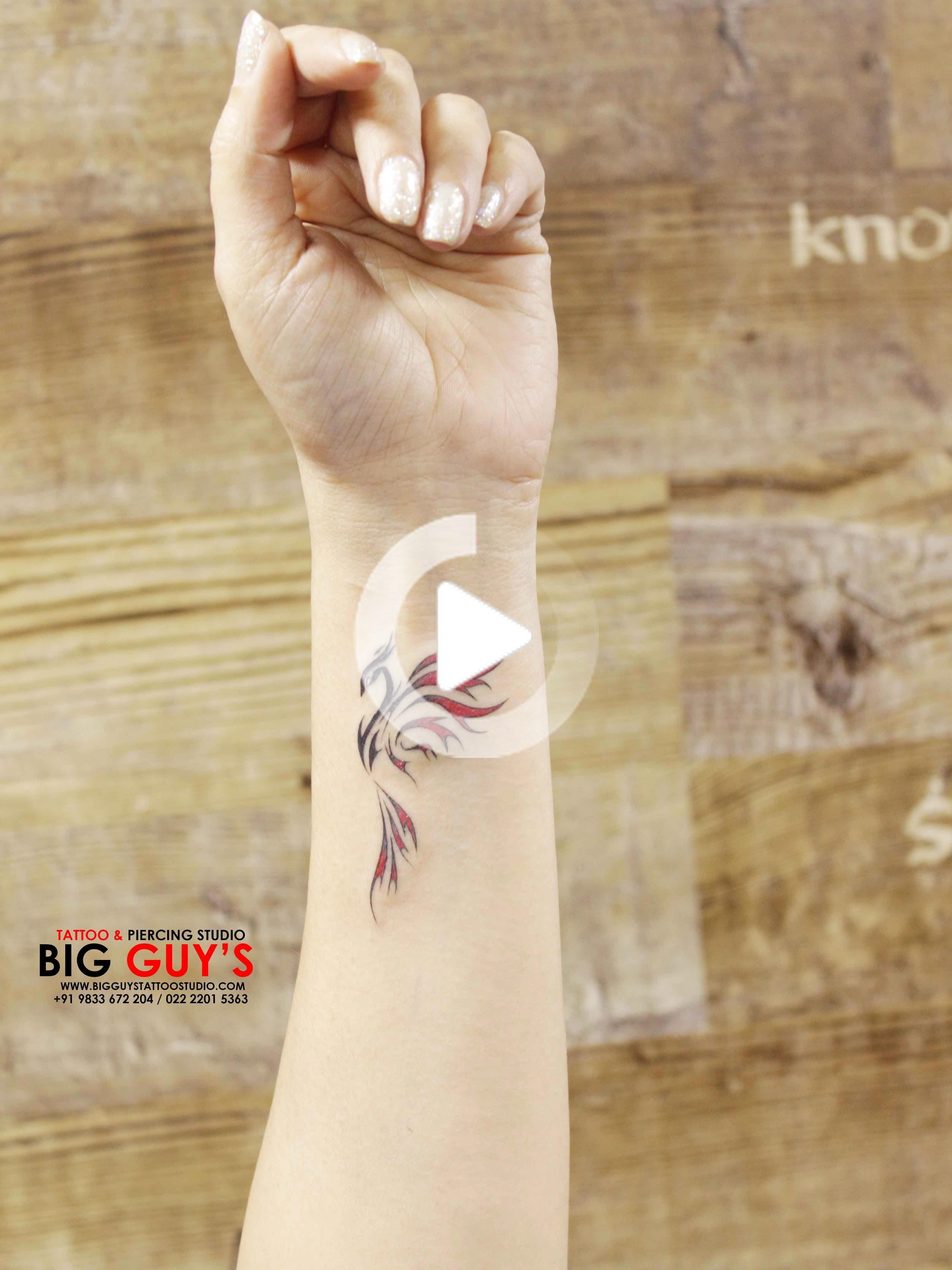 small wrist tattoo with meaning #smallwristtattooforwomen in 2020 | Phoenix tattoo feminine, Small tattoos, Small phoenix tattoos