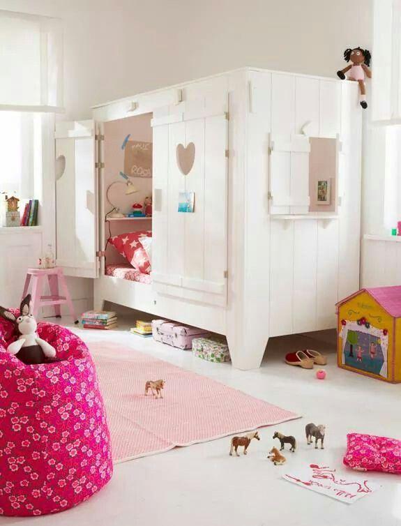 Cuarto de nena piesas de nenas pinterest cuartos de for Muebles habitacion infantil nina