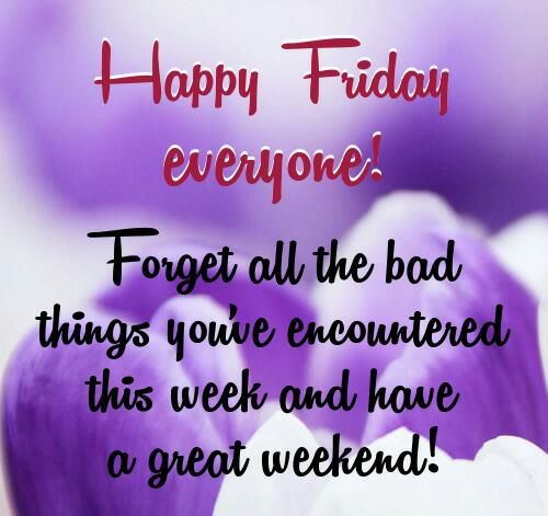 Wonderful Friday Quotes Bijlotti