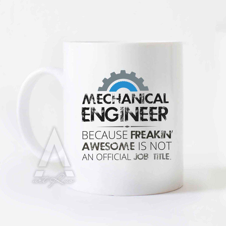 Mechanical engineer mug, Christmas gift, engineer mug