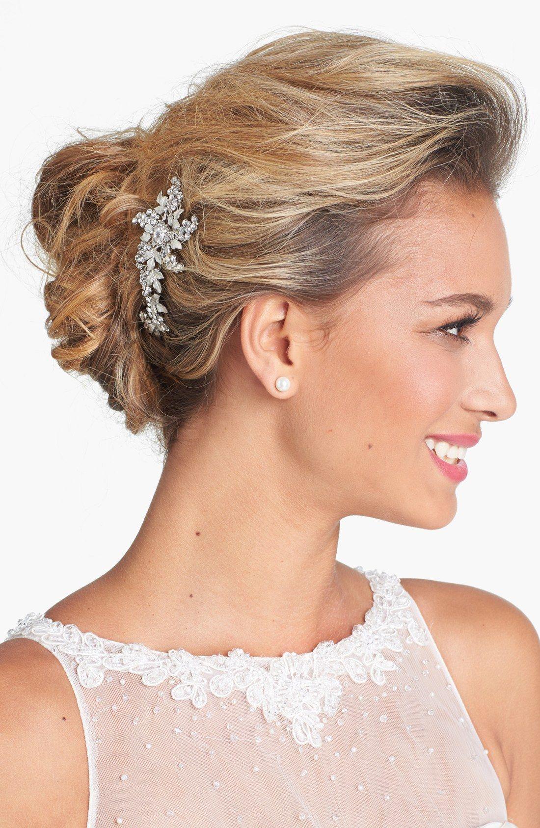 wedding belles new york 'jacqueline' hair comb | bridal