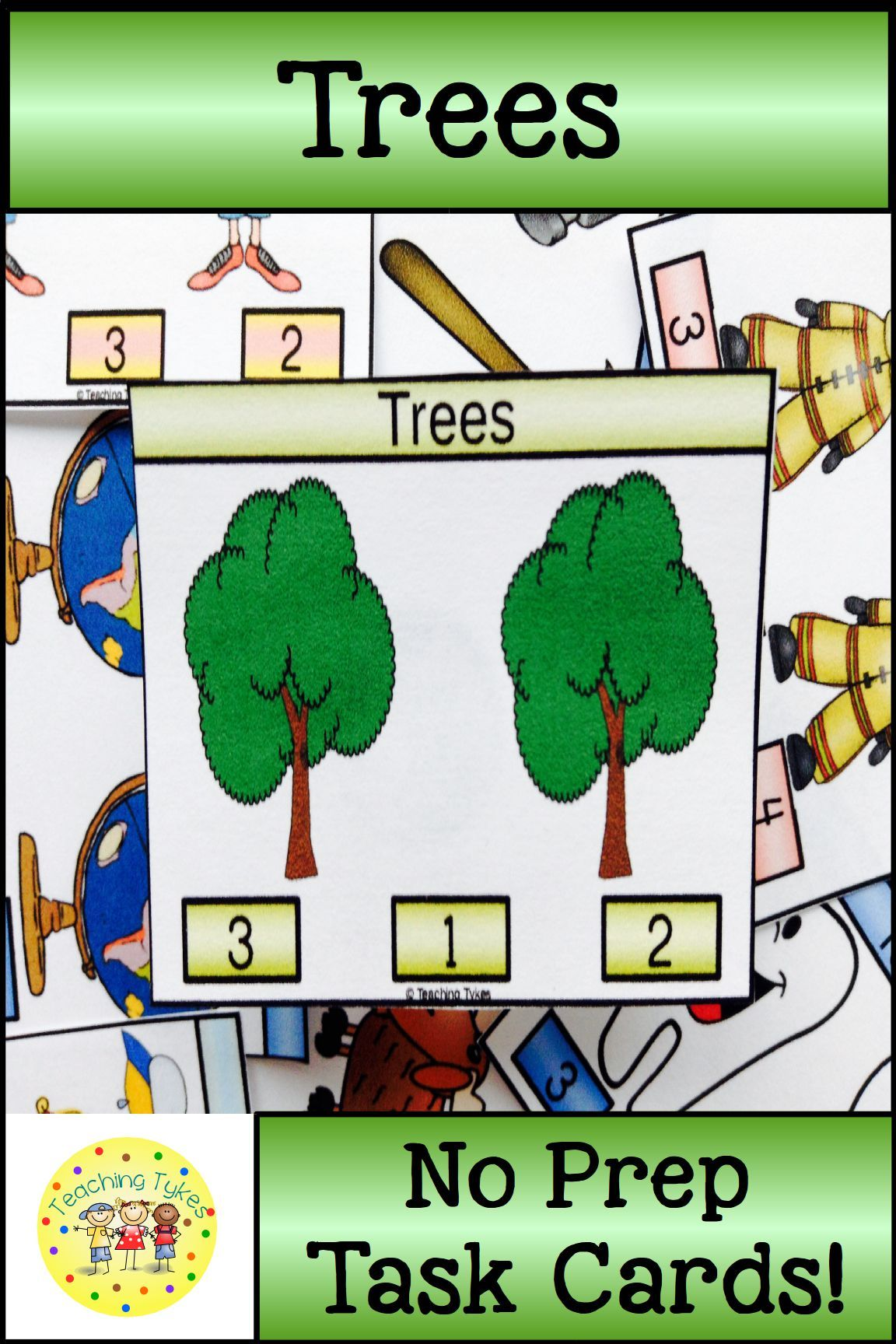Count 1 20 With Trees Counting Countingactivities