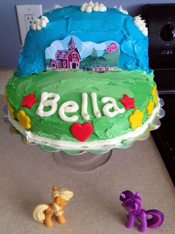 My Little Pony Birthday Cake Age 5