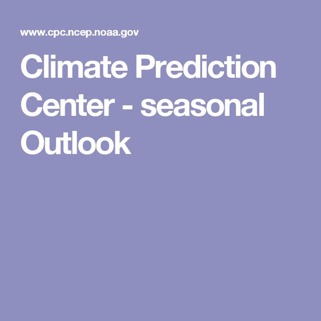 Climate Prediction Center