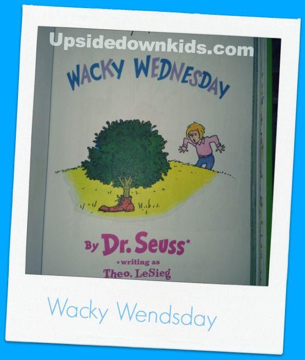 Wacky Wednesday Dr Seuss Quotes Wacky Wednesday questi...