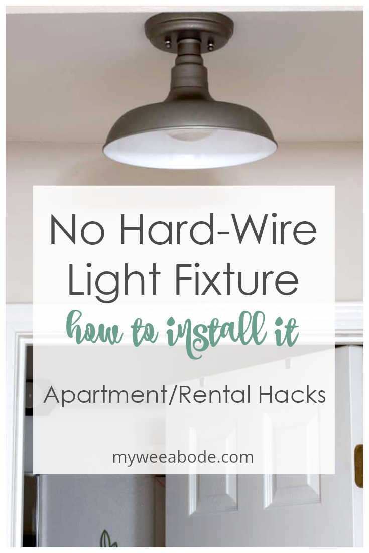 How To Install A Wireless Ceiling Light My Wee Abode Apartment Lighting Install Ceiling Light Wireless Lighting Ceilings