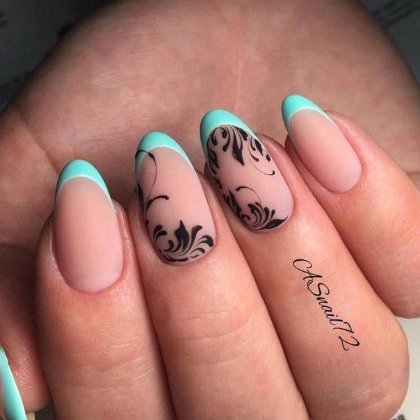 Маникюр | Nails | Diseños de uñas | Pinterest | Diseños de uñas y ...