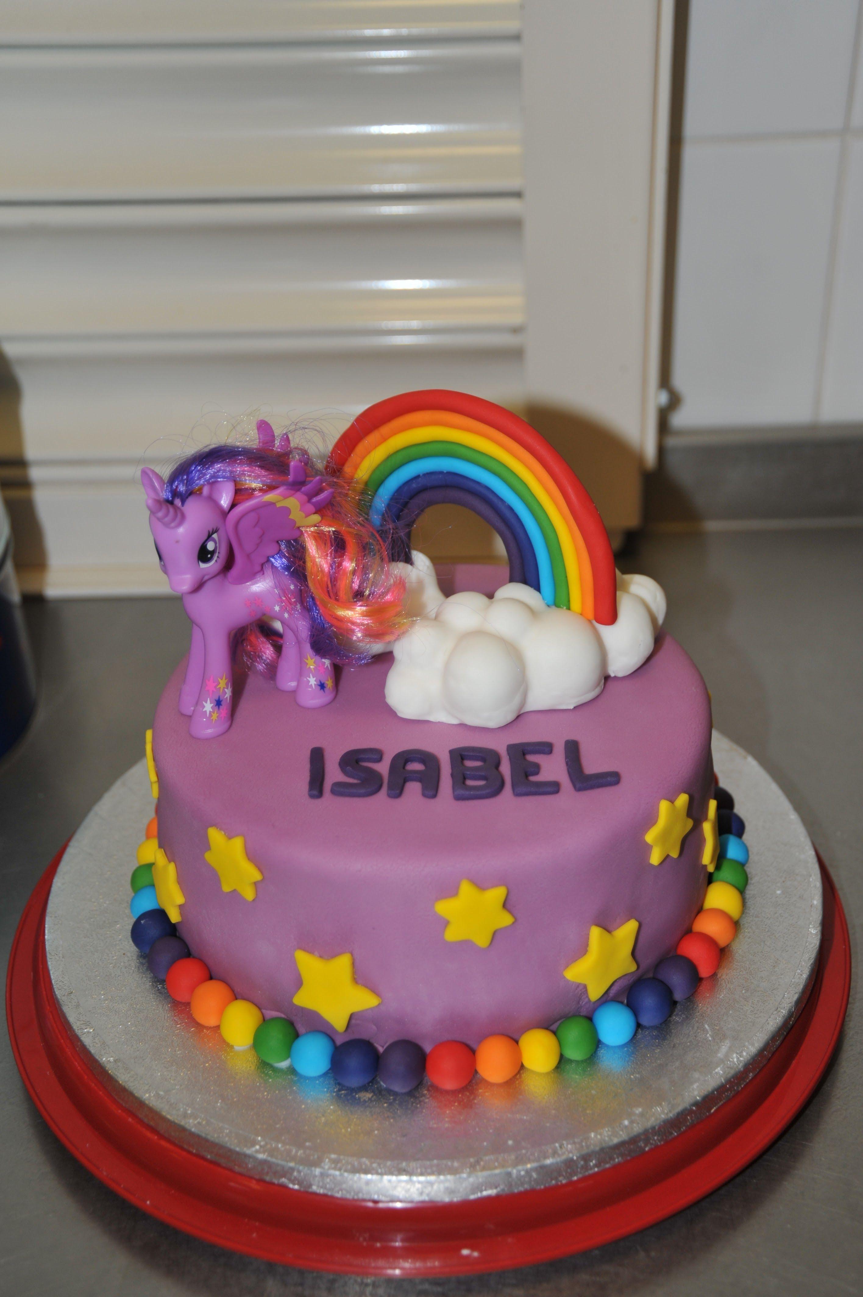 Twilight Sparkle Cake Sparkle Birthday My Little Pony Birthday