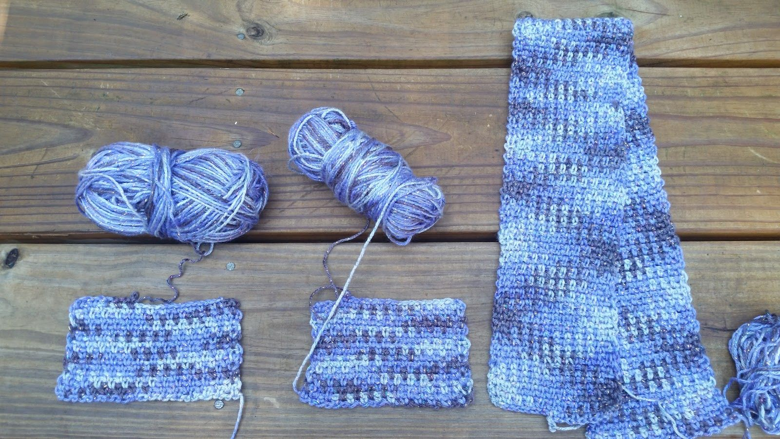 Crochet Color Pooling With Caron Simply Soft Party Knottz Of Yarn