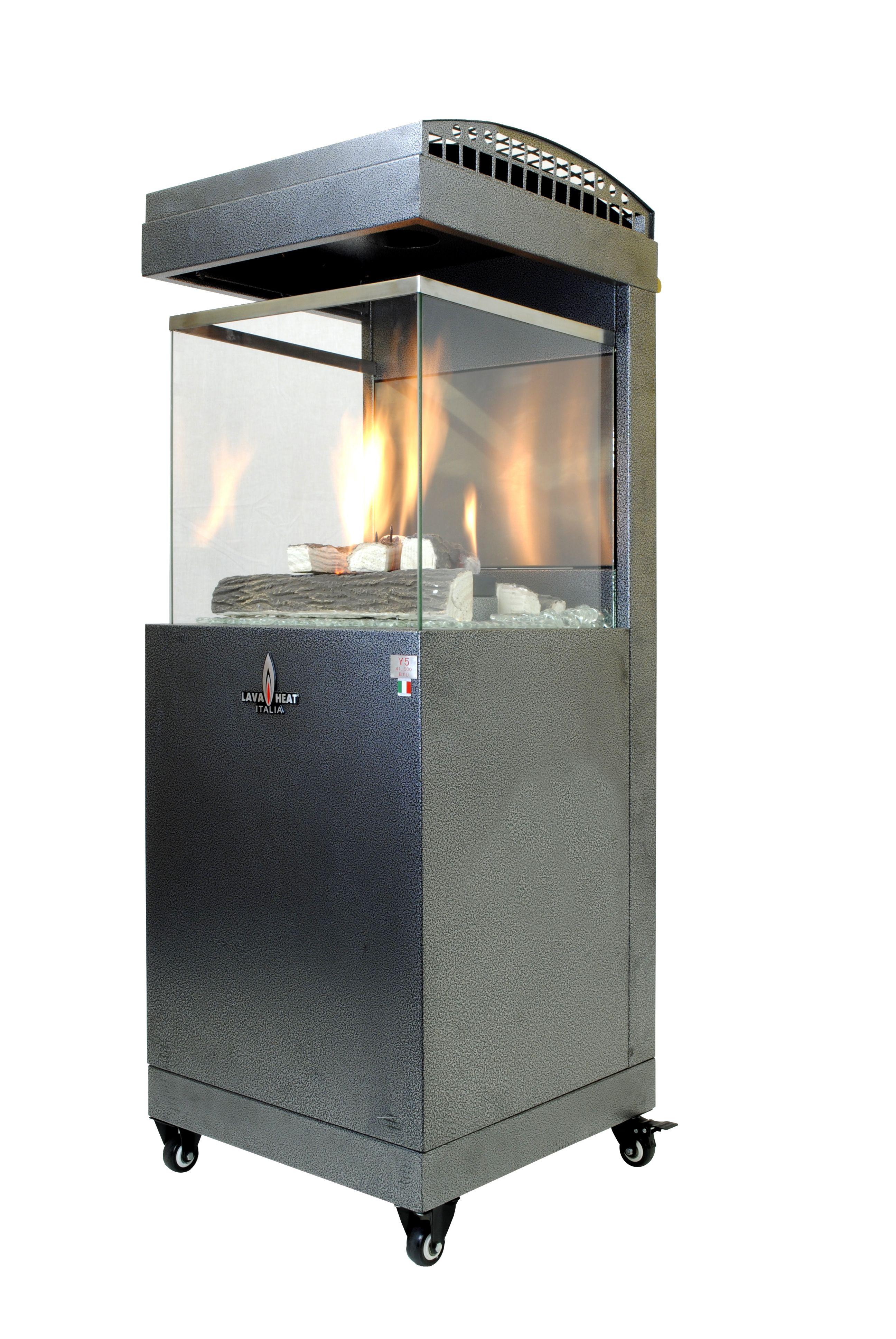 Pandora Y5 Natural Gas Patio Heater Carbon Grey Outdoor Fireplace Patio Patio Heater Natural Gas Patio Heater