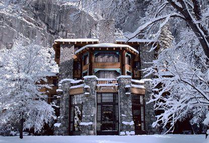 Gilbert Stanley Underwood Ahwahnee Hotel 1927 Yosemite National Park