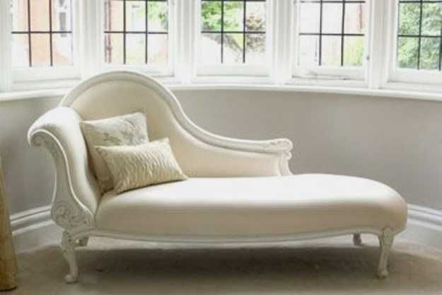 Modern Chaise Lounge Chairs Recamier For Chic Room Decor In