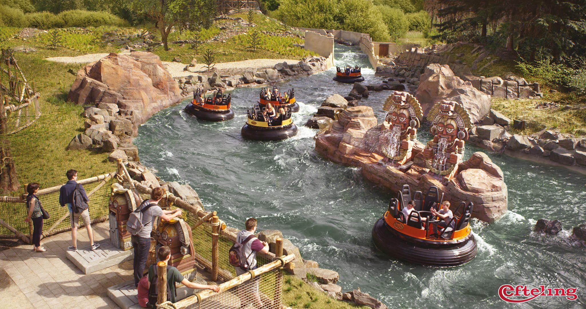 Efteling wallpaper van de wildwaterbaan pira a in for Amusement park netherlands