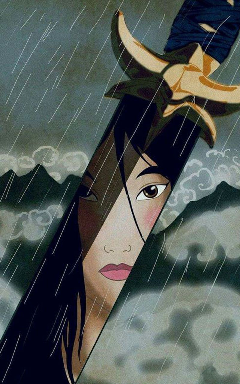 Mulan 4k Wallpaper Disney Drawings Disney Wallpaper Mulan Disney