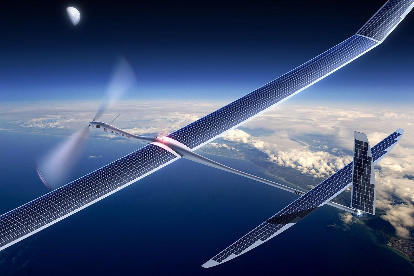 太陽光発電ドローンで5G通信、グーグルが成層圏ネットワーク計画『Project Skybender』推進