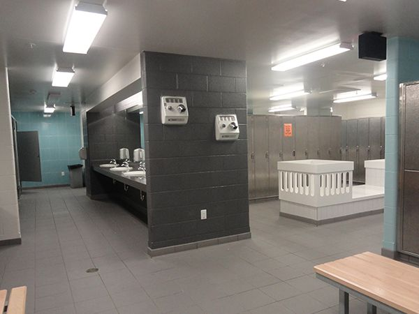 Family Changeroom Sports change rooms building design architecture